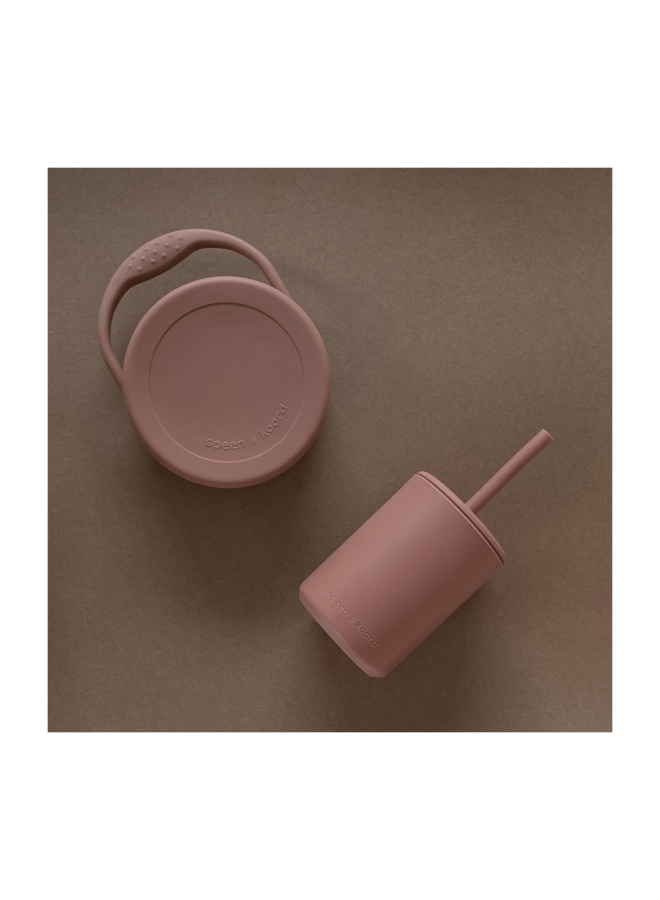 Cup with straw - Sandal