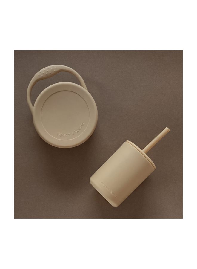 Cup with straw - Tumble