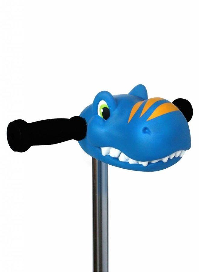 Scootaheadz dino blauw