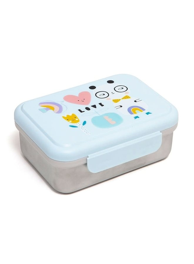 Lunchbox stainless steel panda
