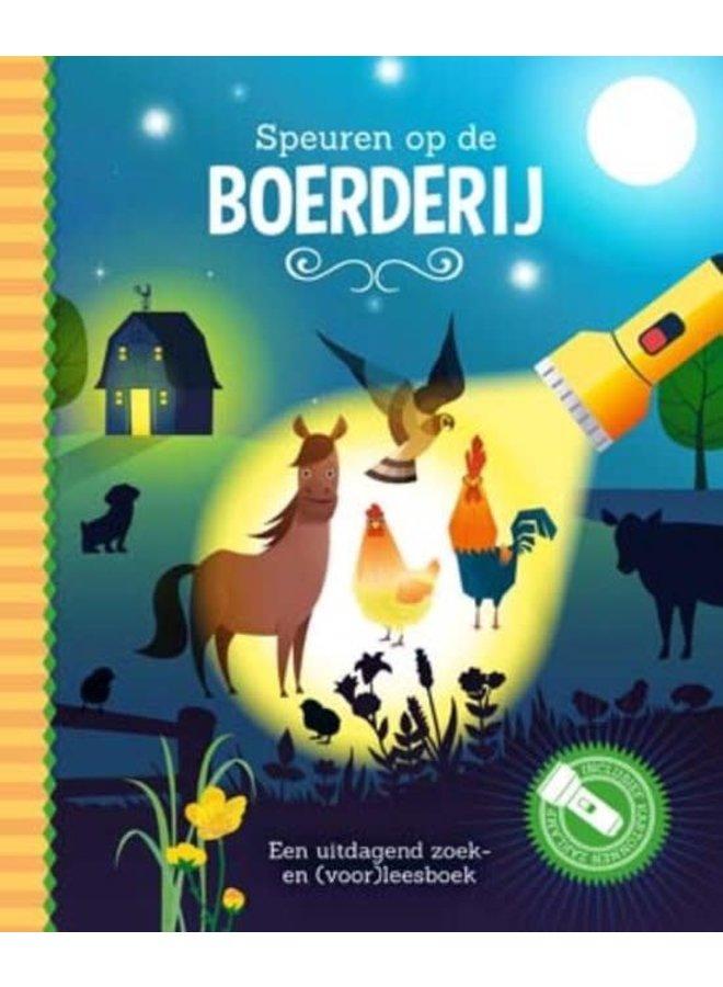 Zaklampboek: Speuren op de boerderij