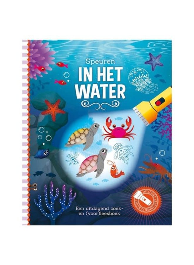 Zaklampboek - Speuren in het water