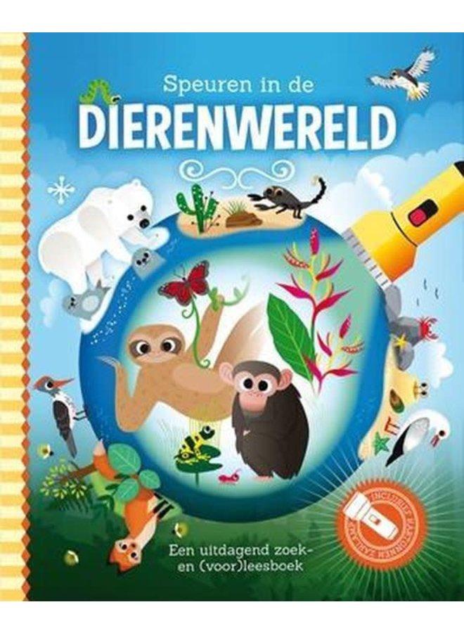 Zaklampboek - Speuren in de dierenwereld