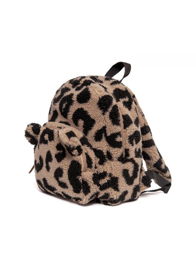 Backpack teddy leopard