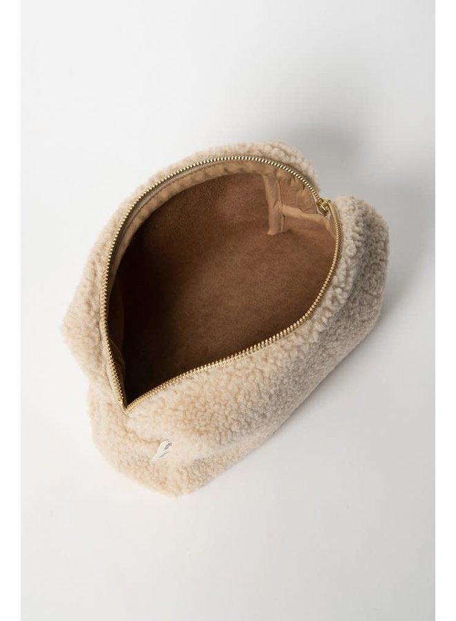 Chunky pouch ecru