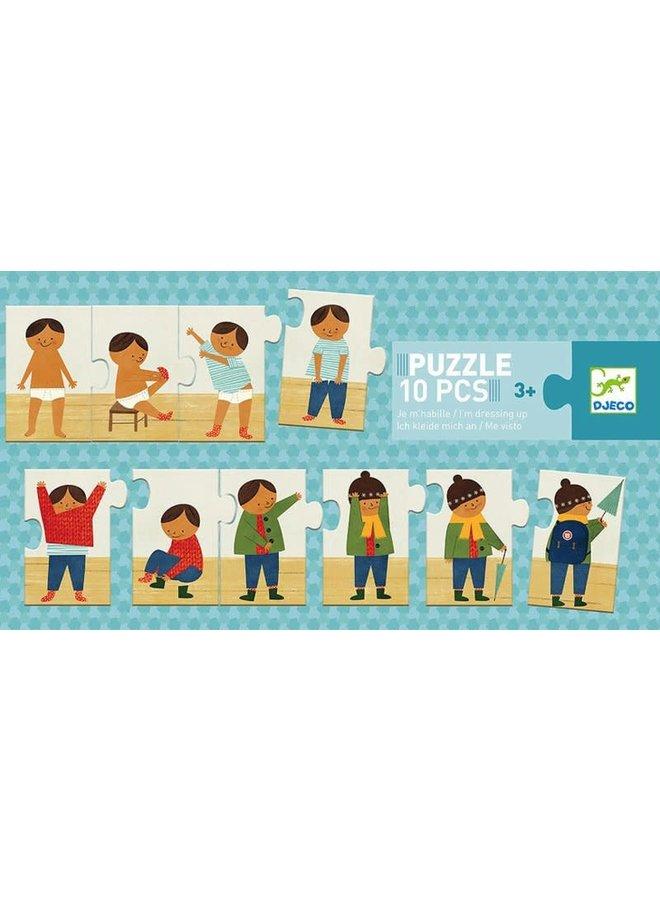 Puzzel - Aankleden