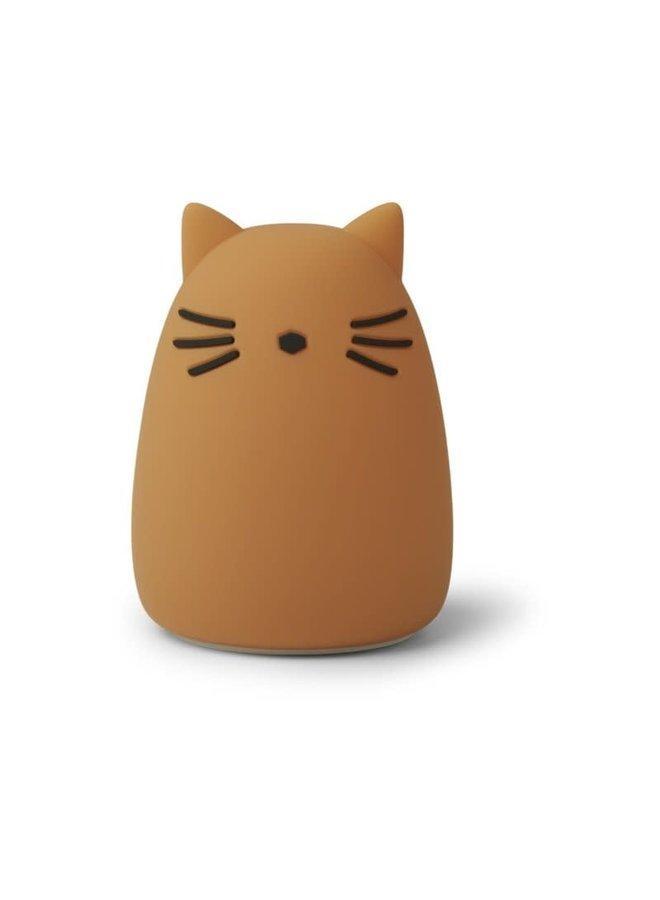 Winston night light - Cat mustard