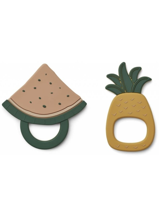 Gia teether 2-pack - Fruit mix