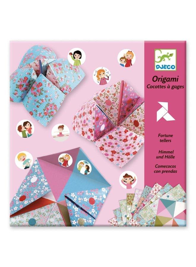 Origamiset - Fortune tellers bloemen