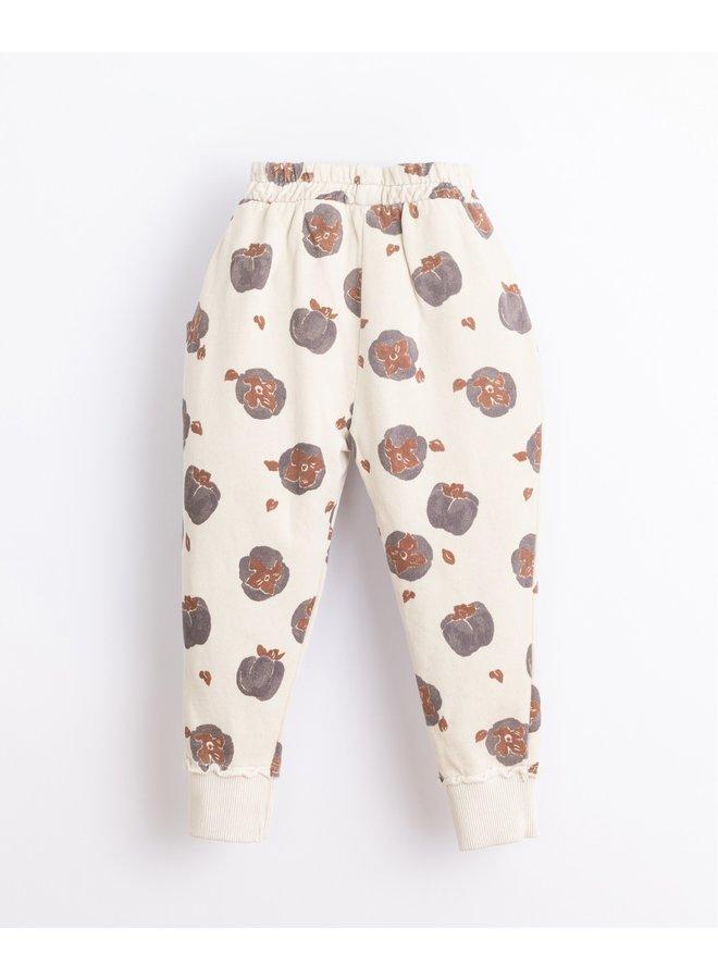 Printed Fleece Trousers miro