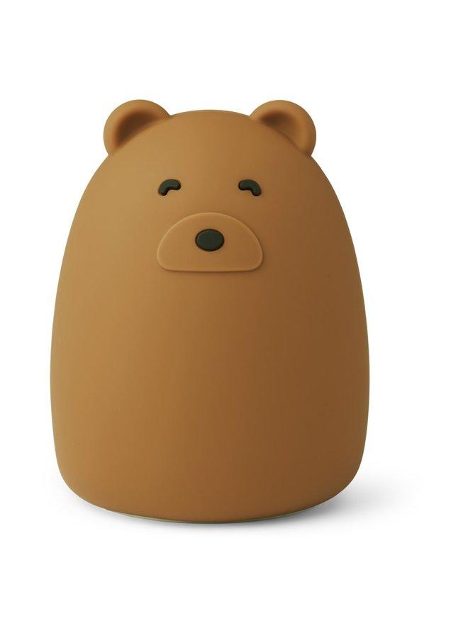 Winston night light - Bear mustard (nachtlampje)