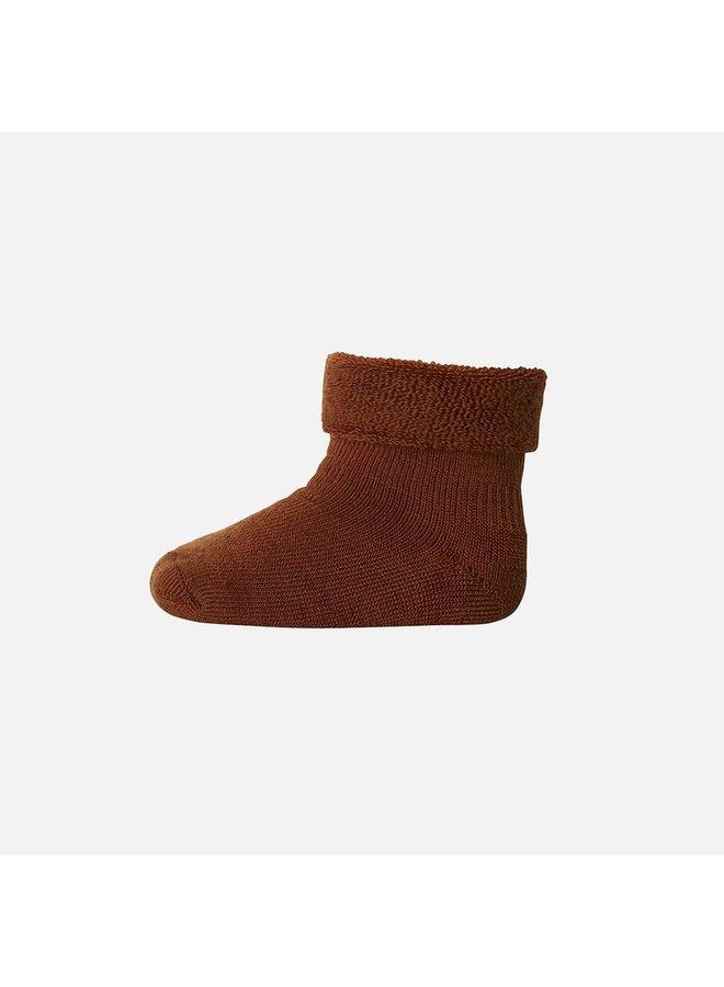 Wool terry socks - Sienna