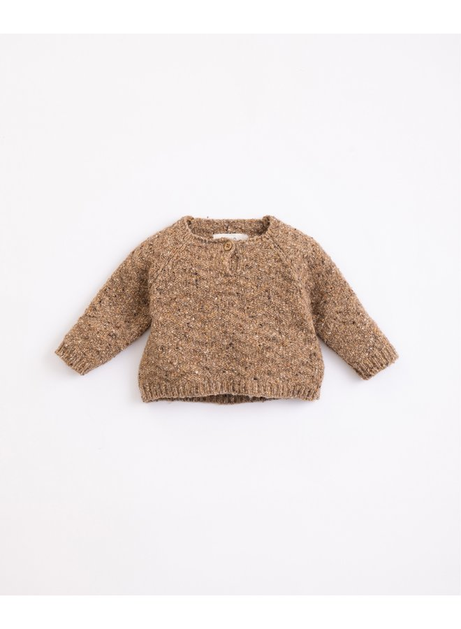 Sweater knitted wool - Paper