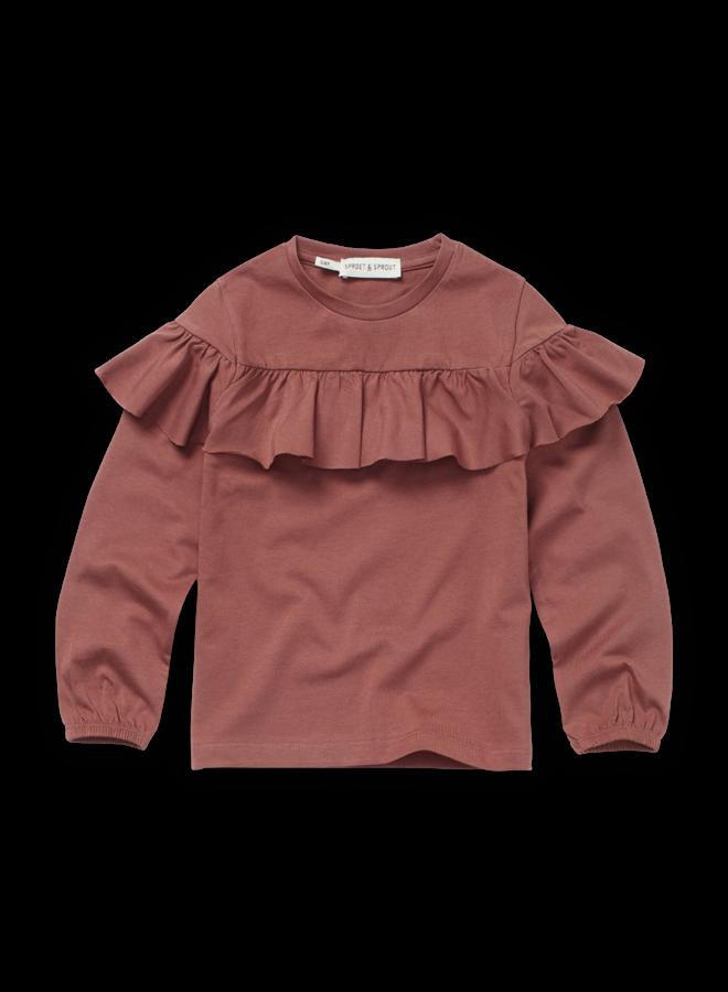 T-Shirt Ruffle Fig