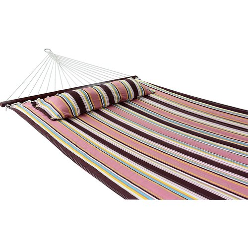 Vita5 Vita5 Hammock with Frame, Up to 2 People / 200 kg, 190 x 140 cm, Removable Pillow, Weatherproof, (Mocca)