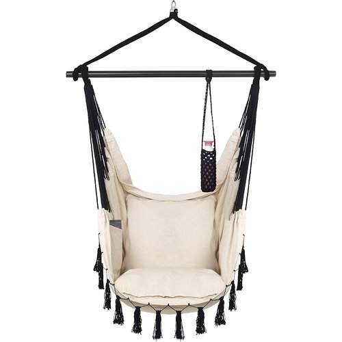 Vita5 Vita5 Hangstoel met 2 kussens - Beige