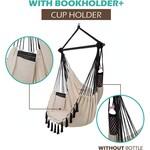 Vita5 Vita5 Hanging Chair with 2 Cushions - Beige