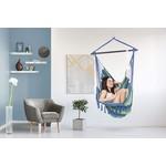 Vita5 Vita5 Hanging Chair with 2 Cushions - Blue/Green
