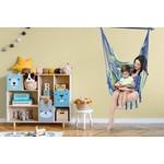 Vita5 Vita5 Hanging Chair with 2 Cushions - Blue/Green/White
