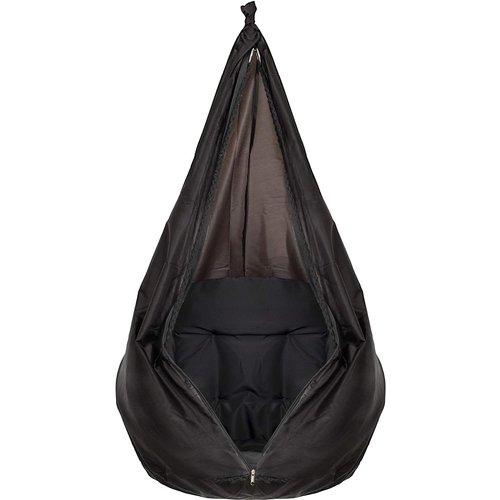 Vita5 Vita5 Macrame Hangstoel - zwart
