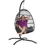Vita5 Vita5 Eggchair with pillow and stand