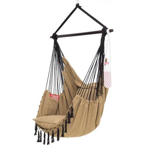 Vita5 Hangstoel met 2 kussens - Bruin