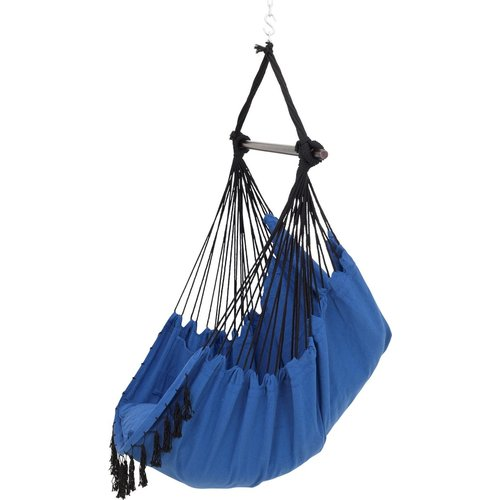 Vita5 Hanging Chair with 2 Cushions - Blue
