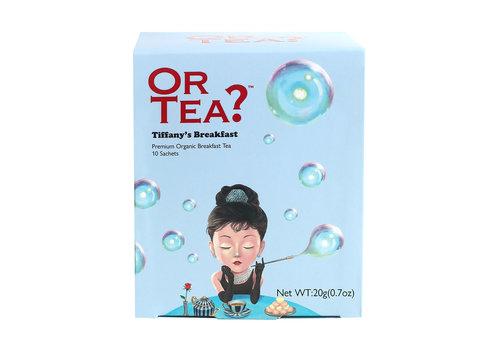 Or Tea? Tiffany's Breakfast (10 zakjes) – BIO