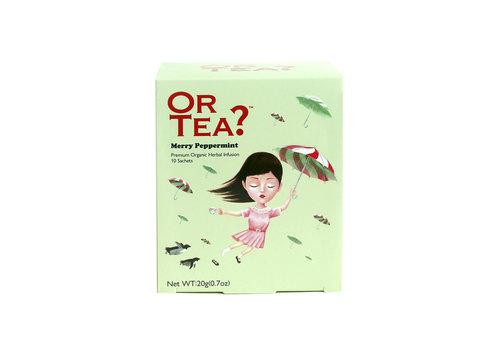 Or Tea? Merry Peppermint (10 zakjes) – BIO