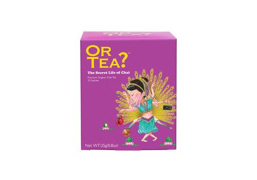 Or Tea? The Secret Life of Chai (10 zakjes) – BIO