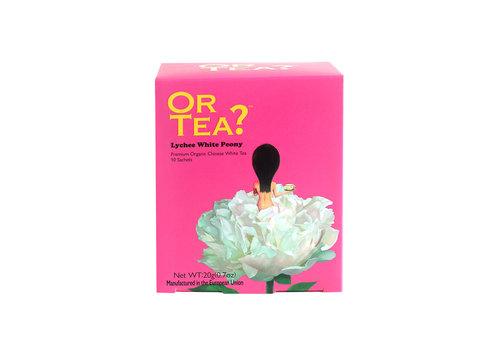 Or Tea? Lychee White Peony (10 zakjes) – BIO