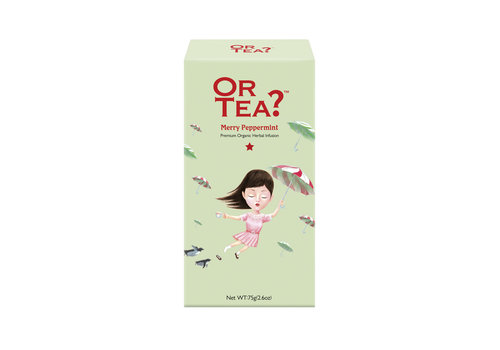 Or Tea? Merry Peppermint (75g) – navulling BIO