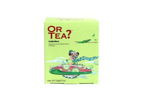 Or Tea? CuBaMint (10 zakjes)