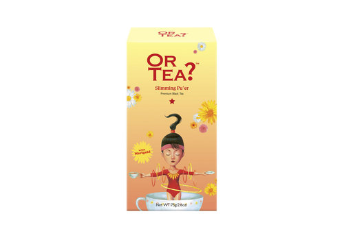 Or Tea? Slimming Pu'er (75g) - navulling BIO