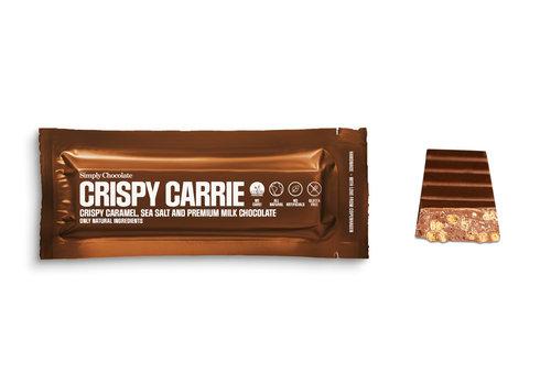 Simply Chocolate Crispy Carrie (40g) – 1 reep