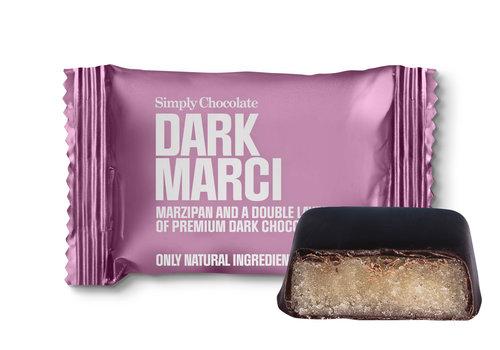 Simply Chocolate Dark Marci mini (10g) – 1 st.