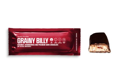 Simply Chocolate Grainy Billy (40g) – 1 reep