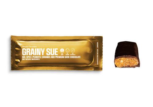 Simply Chocolate Grainy Sue (40g) – 1 reep