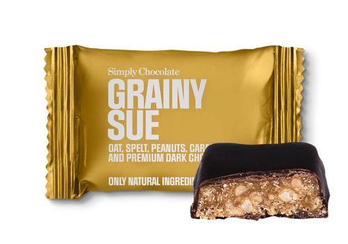 Simply Chocolate Grainy Sue mini (10g) – 1 st.