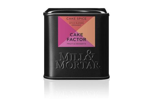 Mill & Mortar Cake Factor kruidenmix (50g) – BIO