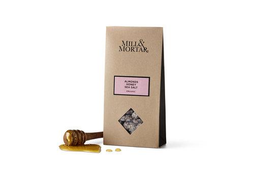 Mill & Mortar Amandelen met Honing en Zeezout (100g) – BIO