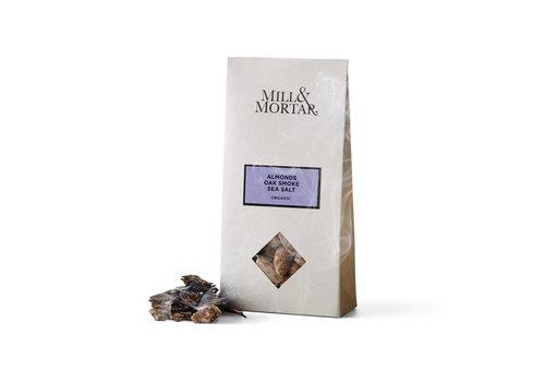Mill & Mortar Gerookte Amandelen met Zeezout (100g) – BIO