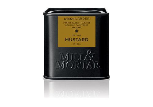 Mill & Mortar Bruin mosterdzaad (50g) - BIO
