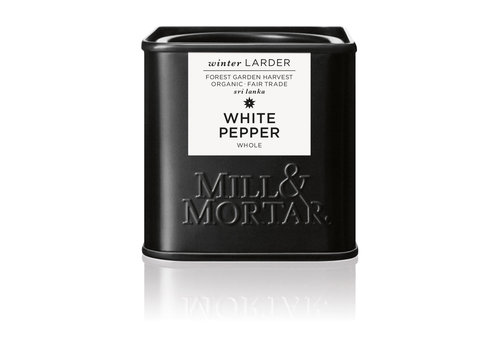 Mill & Mortar Witte Peper (50g) – BIO