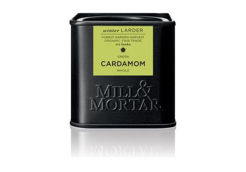 Mill & Mortar Groene kardemom, volledige zaden (25g) - BIO