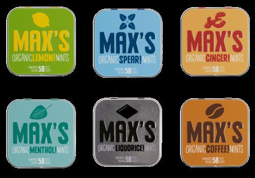 Max's Mints A Minty Start (6 x 35g) – BIO