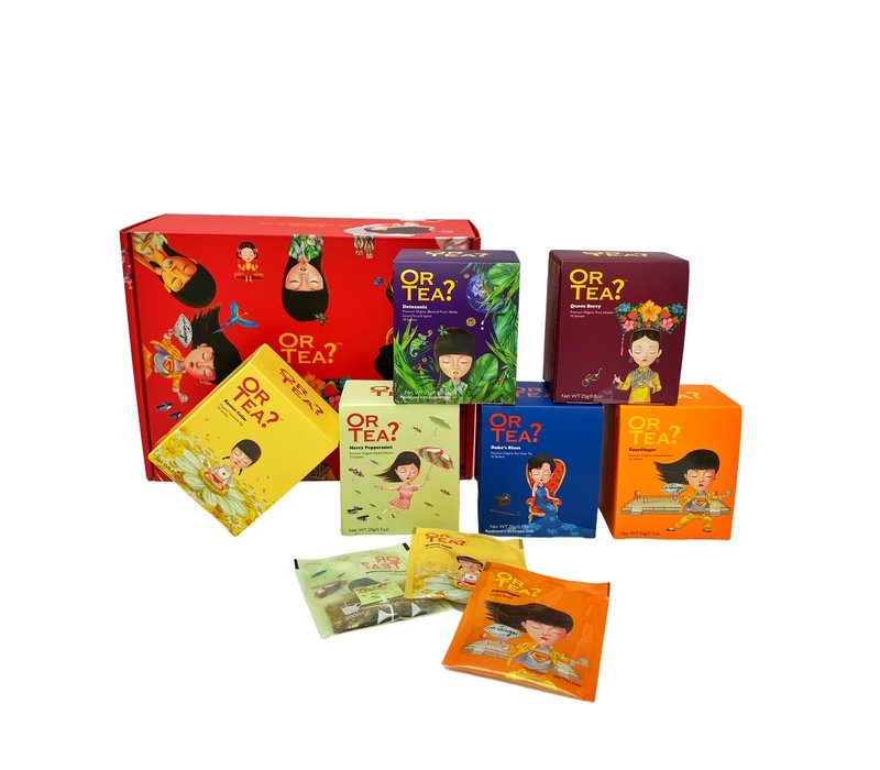 Gift Box – 6x 10-Sachet Box