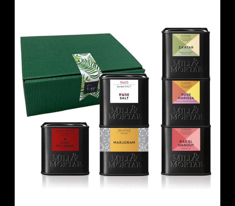 Midden-Oosterse & Noord-Afrikaanse Kruiden box