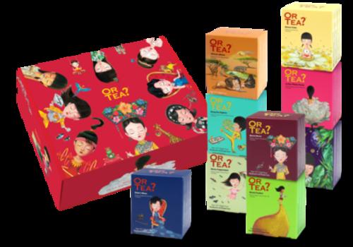 Or Tea? Or Tea? Geschenkbox – 9 x 10 zakjes