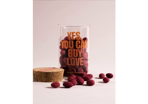Simply Chocolate Yes, You Can Buy Love (280g) – Jar